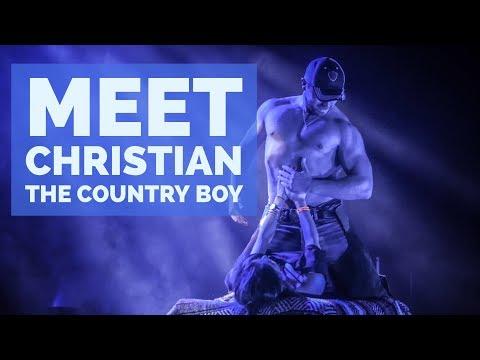 MEET CHRISTIAN - THE COUNTRY BOY - MAGIC MEN LIVE!