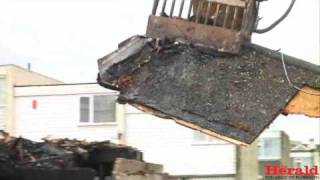 Plymouth gas explosion house demolished