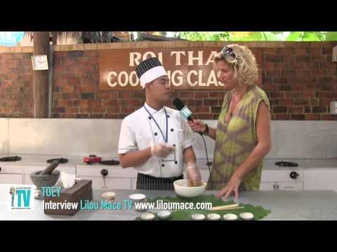 Thai Chicken Satay Recipe - Roi thai cooking, Koh Lanta