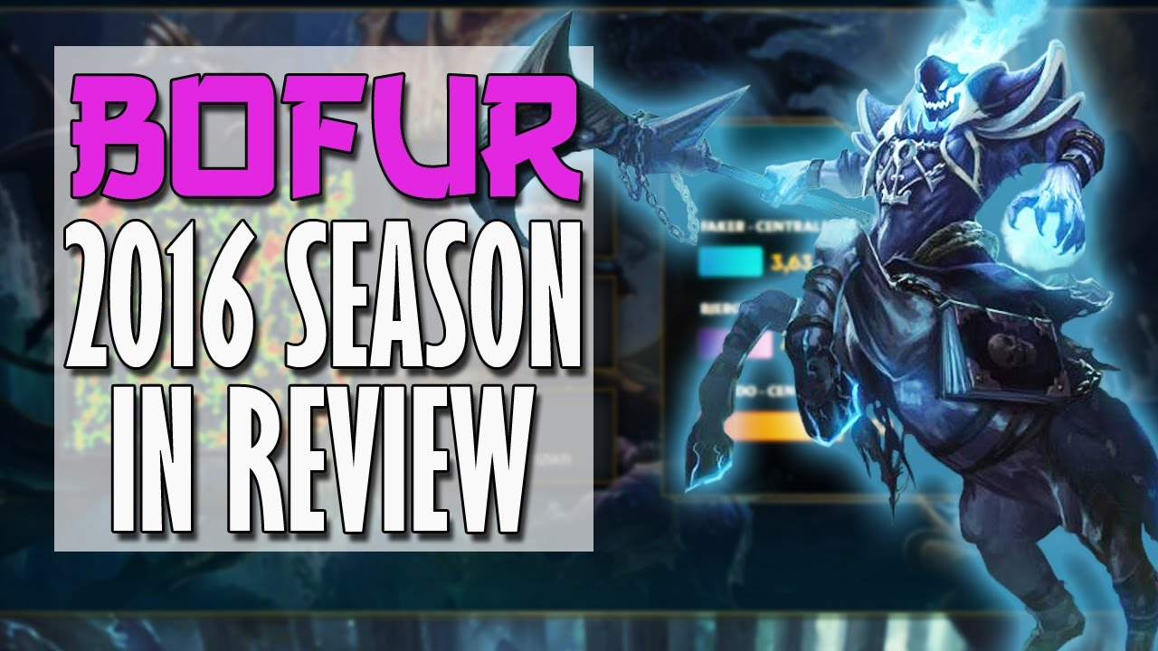 League Of Legends My 2016 Season In Review