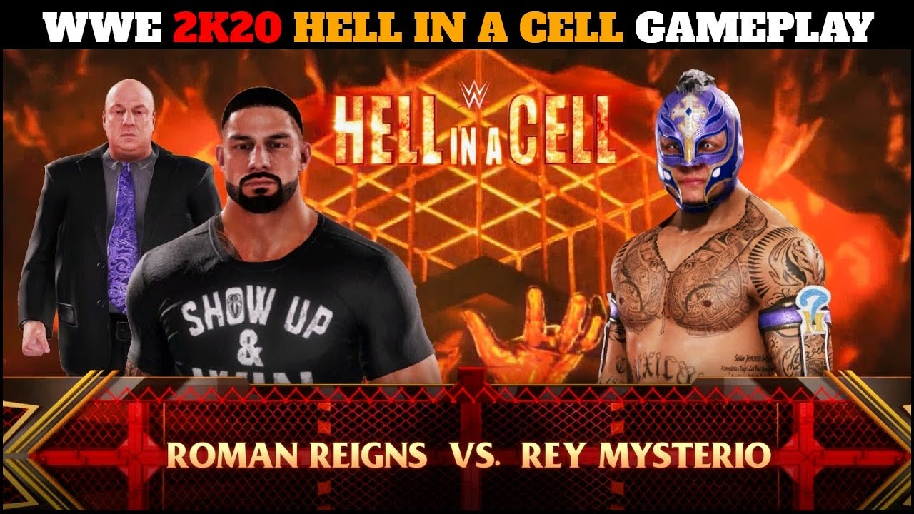 Download WWE 2K20 'HELL IN A CELL' Gameplay || WWE 2K20 On PS4 Gameplay ||