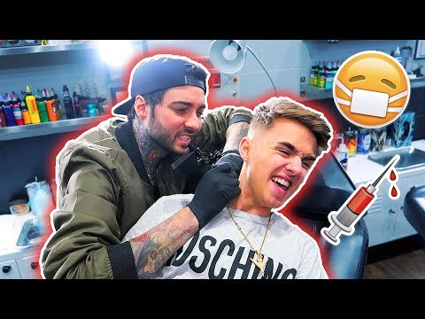 I GOT ANOTHER TATTOO! (Ft. Romeo Lacoste) *NOT CLICKBAIT*