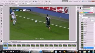 درس تحويل الفيديو إلى صورة متحركة بإستخدام الفوتوشوب