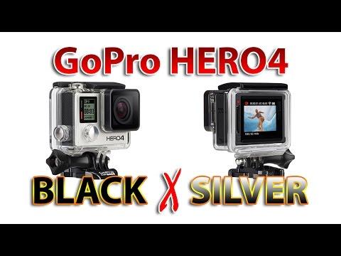 HERO4: BLACK vs SILVER - Qual comprar?