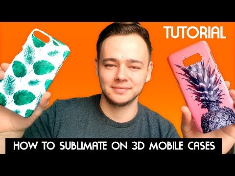 3D Sublimation Design Printing On IPhone Cases. Great Business Idea.