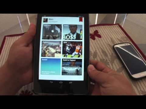 My Best Reader Apps on Nexus 7 Tablet