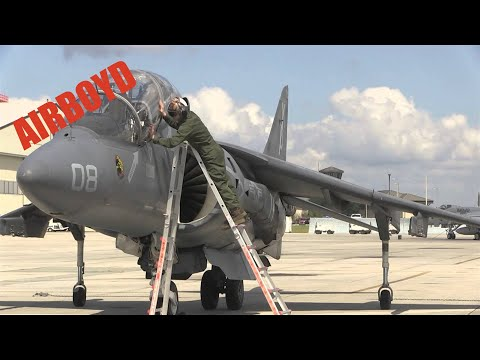 TAV-8B Harrier Operation Angry Birds