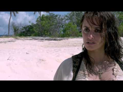 Jack Sparrow leaves Angelica on Desert Island | Pirates of t