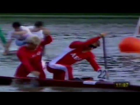 1993 ICF World Canoeing Championships Copenhagen, Men's C-2 10,000 m Final. (16:9)