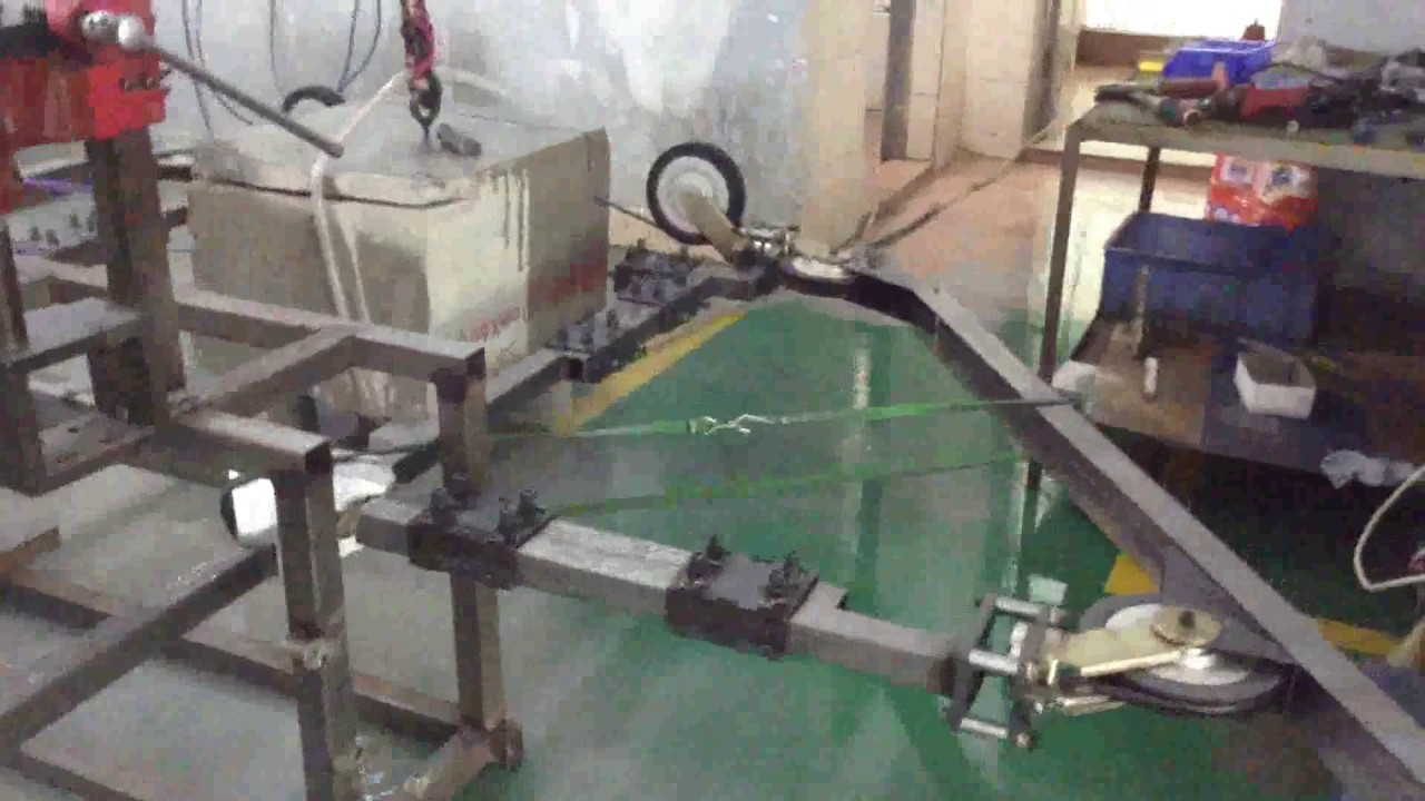 circular concrete wire saw cutting machine - YouTube