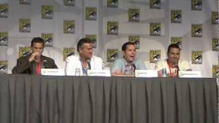 Burn Notice Panel, Part 1 - San Diego Comic Con 2010