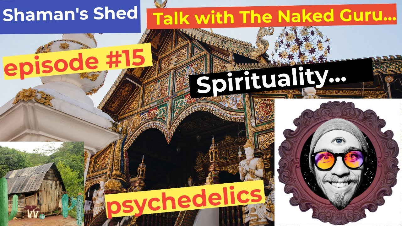 #15 Talk with The Naked Guru | psychedelics | Vedanta | Jungian Psychology | LSD benefits and more.