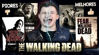 As PIORES e as MELHORES Temporadas THE WALKING DEAD - Especial Fear The Walking Dead