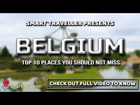 BELGIUM Travel Guide | TOP 10 Places to Visit