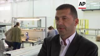 Kosovo opens new $5 million solar panel factory