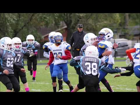 Des Plaines Jr Warriors Football vs. Warren - October 20