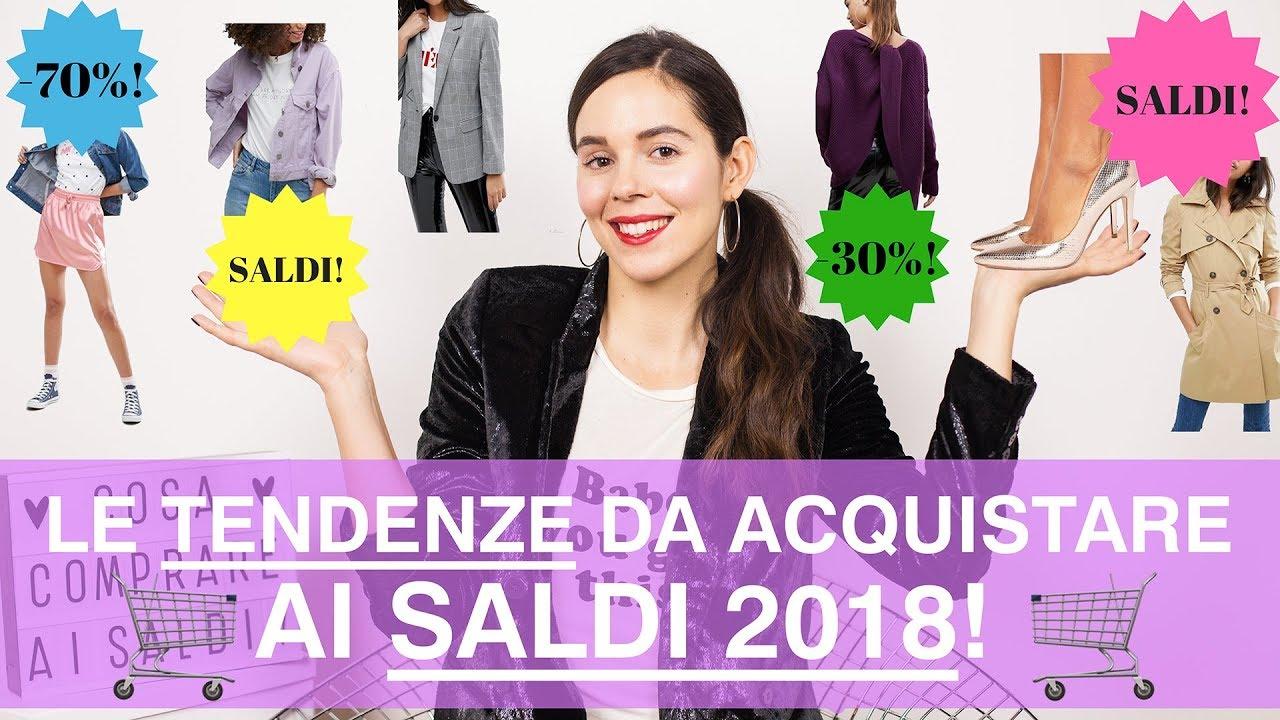 SALDI 2018  cosa comprare  I capi di moda anche la prossima primavera! 87e7e8b5b75