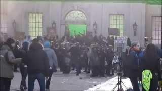 'Bastille Day' Filming