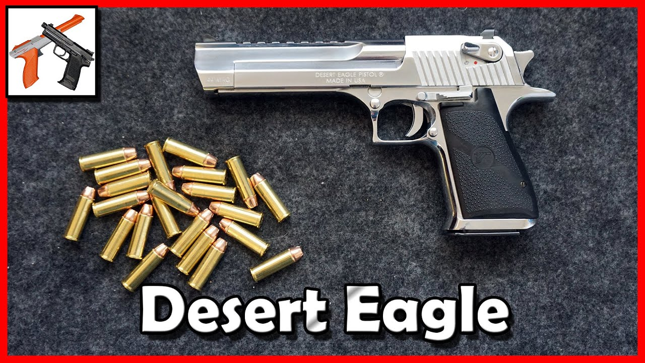 Desert Eagle  44 Magnum! Review / Overview, Jam Fixes, Problem Solving, and  Range Time!