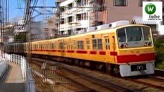 西鉄2000形(2021)急行 雑餉隈~春日原 2010年秋 Nishitetsu Tenjin Omuta Line