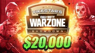 🔴 $20,000 WARZONE TOURNAMENT (Vikkstars Showdown Week 8)