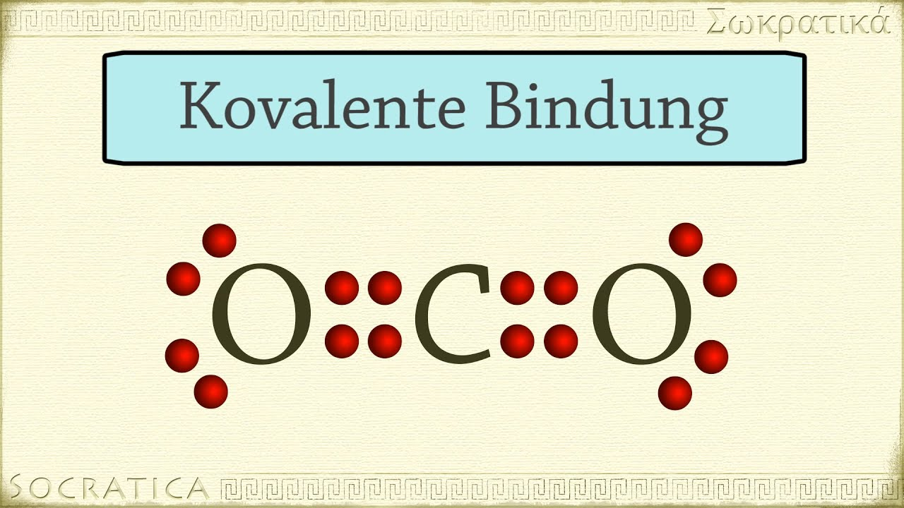 Chemie Kovalente Bindung