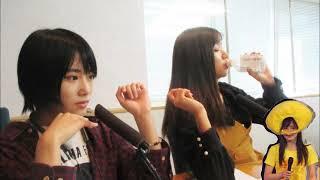 2018.11.04 ラジオ おやすみNMB48 城恵理子、谷川愛梨.