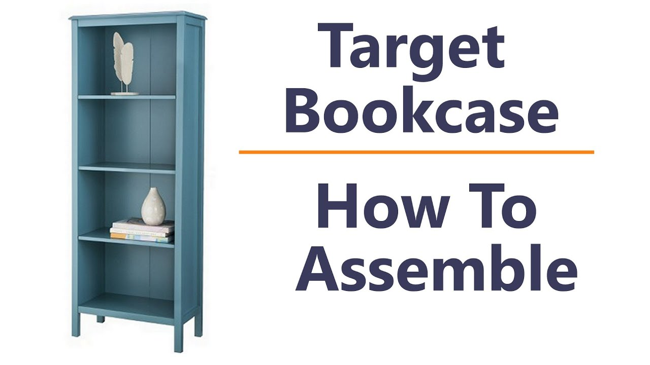 target threshold windham shelf bookcase how to assemble and tips youtube