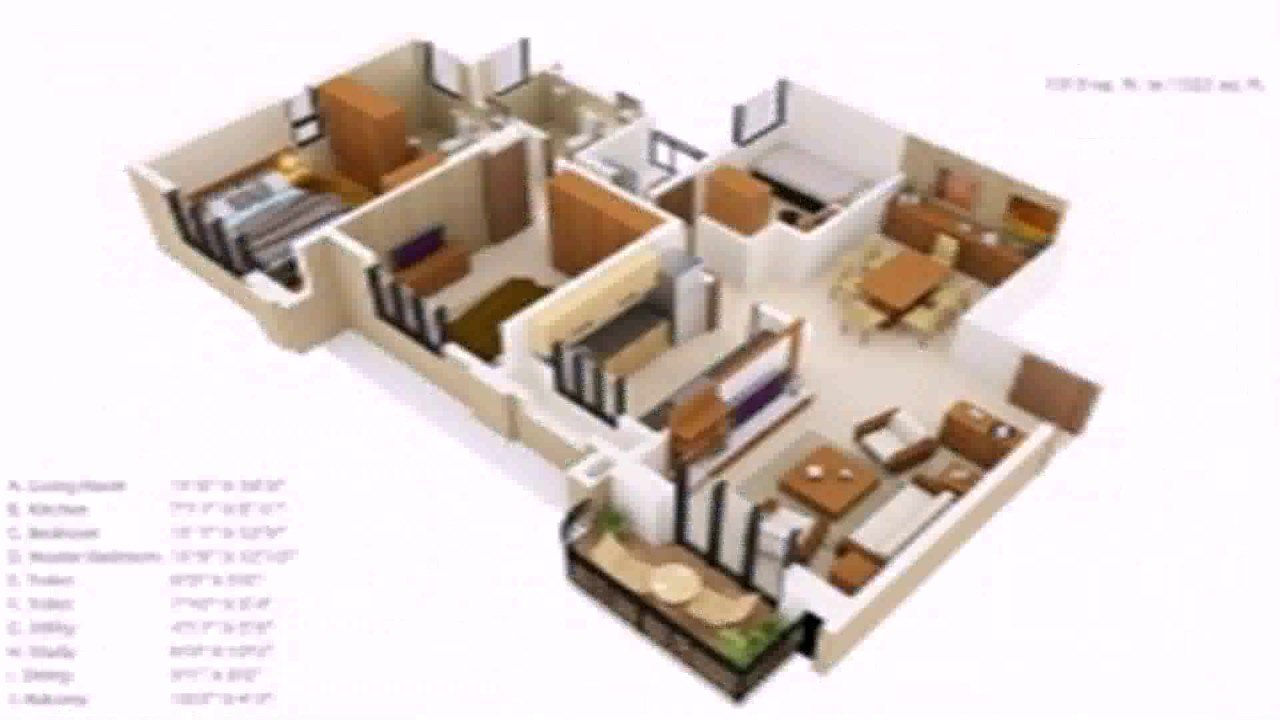 Floor plans under 1500 square feet youtube for Home plans under 1500 square feet