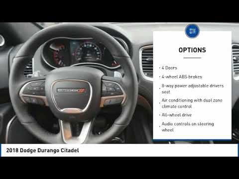 Fort Collins Dodge >> 2018 Dodge Durango Fort Collins Co 5418