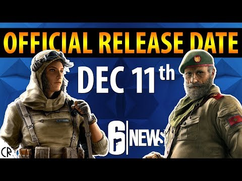 Dec 11th Release Date - Wind Bastion - Kaid & Nomad - 6News - Tom Clancy's Rainbow Six Siege