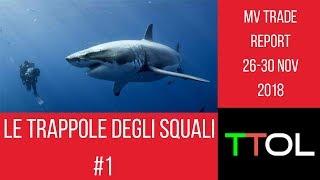 Trading online_MV TRADE 26-30 Nov 2018 / Le trappole degli squali #1| TTOL_Trading Week
