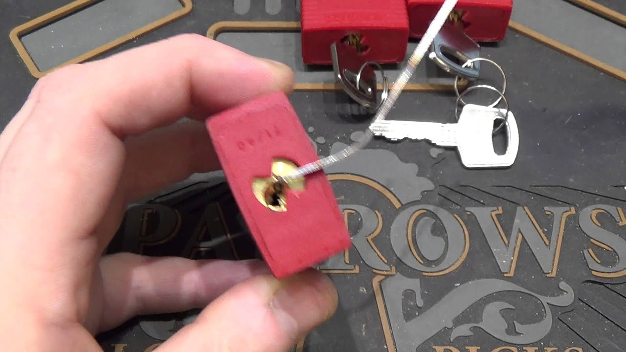 057 Brady Abus 71 40 Loto Locks Picked And Gutted