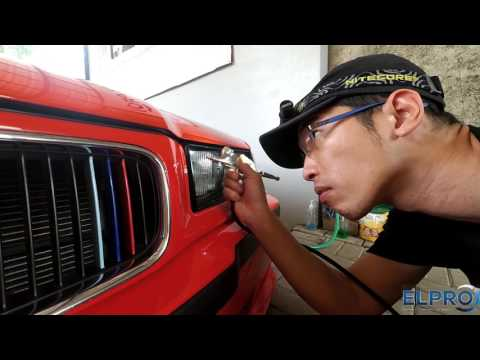 BMW E36 Paint restore project