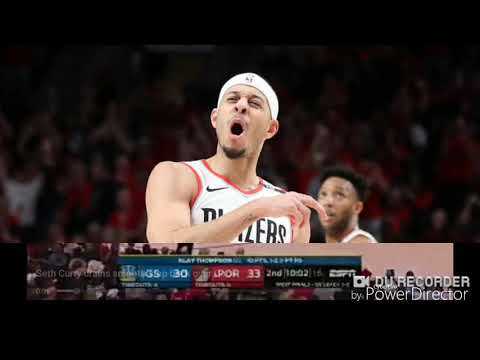 Seth Curry stepback three on Quinn Cook Game 3