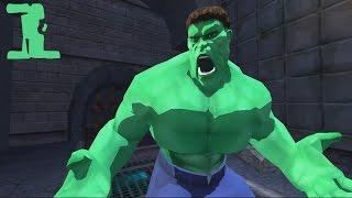 The Hulk Прохождение Часть 1 Дивный Сон
