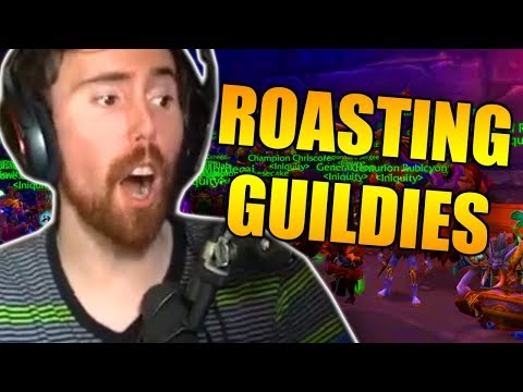 Asmongold Listens To His Guild Mates Roast Eachother About In Game Loot & Tries To Fix It