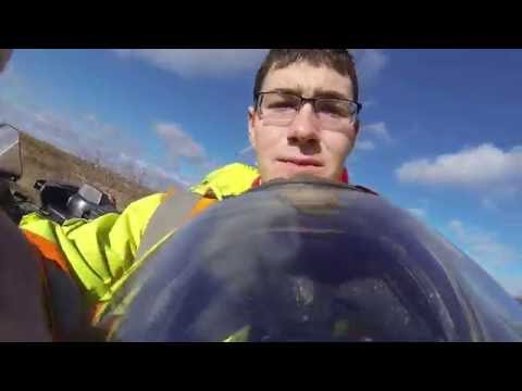 GoPro Glace Bay Cape Breton atv drive~ Glace Bay to Mira gut to Devilsfalls Catalone gopro