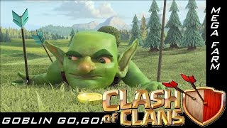 CLASH OF CLANS - ATTACCARE CON I GOBLIN - MEGAFAIL OPPURE NO ???