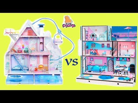 СТАРЫЙ ИЛИ НОВЫЙ ДОМИК для КУКЛЫ ЛОЛ LOL SURPRISE DOLL HOUSE // My Toys Pink
