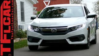 2016 Honda Civic Sneak Peek Preview: We Get Behind the Wheel & Show You All We Can!