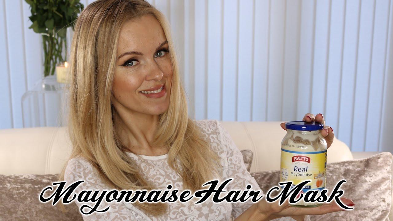 Hair Mask For Soft Shiny Healthy Eggs Mayonnaise Olive Oil
