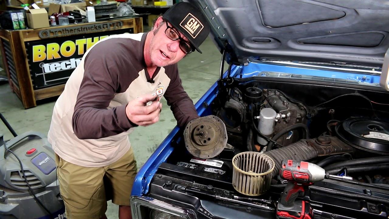medium resolution of blower fan motor replacement classic chevy gmc truck