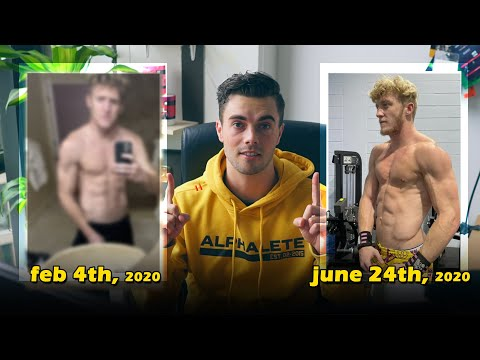Tfue's ACTUAL REALISTIC Fitness Transformation