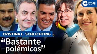 """Schlichting desmantela a Zapatero: """"Se ha convertido en uno de los fontaneros de Sánchez"""""""