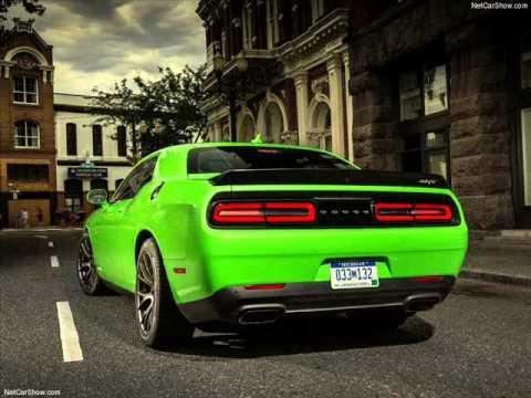 All New 2015 Dodge Challenger SRT Hellcat 6.2 HEMI Green - YouTube