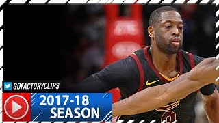 Dwyane Wade Full Highlights vs Bulls (2017.12.04) - 24 Pts, 6 Reb off the Bench!