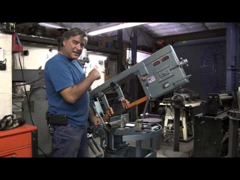 How to Use a Horizontal Bandsaw - and Why You Would Want to Use It - Kevin Caron