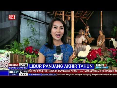 Beginilah Dekorasi Natal 2017 di Gereja Katedral Jakarta