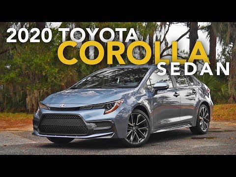 2020 Toyota Corolla Sedan Review - First Drive